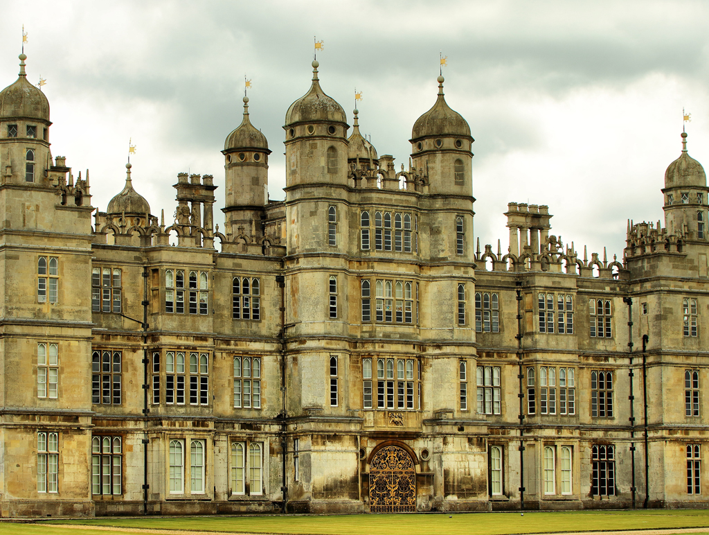 Burghley House on the outskirts of Stamford