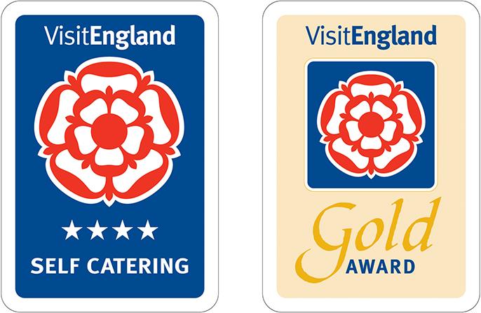 Visit England - 4 Stars Gold Award